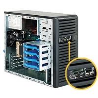 Корпус SuperMicro CSE-731D-300B Mini-Tower 300W черный