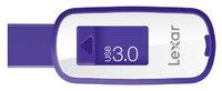 Флеш Диск Lexar 64Gb JumpDrive S25 LJDS25-64GABEU USB3.0 белый/фиолетовый