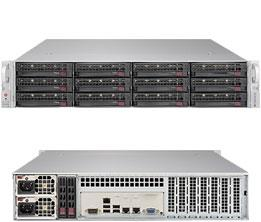 Платформа SuperMicro SSG-6029P-E1CR12L x12 LSI3008 10G 2P 2x1200W