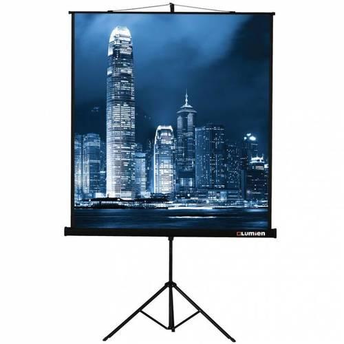 Экран на треноге Lumien 213x213см Master View LMV-100104 1:1 напольный рулонный