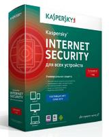 ПО Kaspersky Internet Security Multi-Device Russian Ed 5 devices 1 year Base Box (KL1941RBEFS)