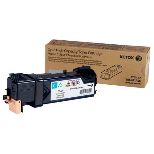Картридж лазерный Xerox 106R01456 голубой (2500стр.) для Xerox Ph 6128