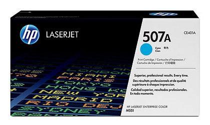 Тонер Картридж HP 507A CE401A голубой (5500стр.) для HP CLJ M551