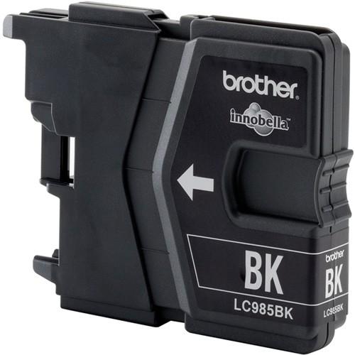 Картридж струйный Brother LC985BK черный (300стр.) для Brother DCP-J315W/J515W/J265W