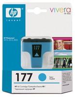 Картридж струйный HP 177 C8771HE голубой для HP 3313/C5183/C6183/C7183/D7163/8253