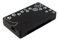 Устройство чтения карт памяти USB2.0 PC Pet CR-215DBK черный