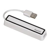 Разветвитель USB 2.0 Hama 12169 4порт. белый (00012169)
