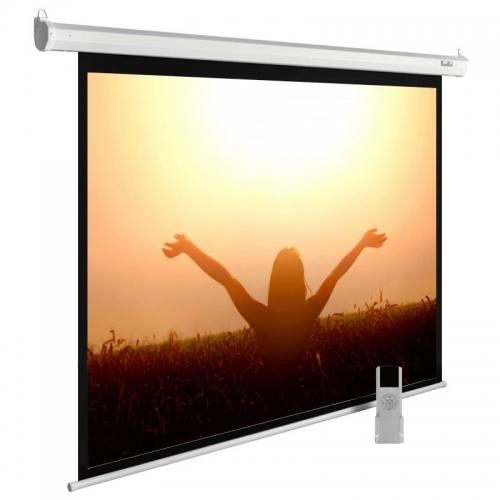 Экран Cactus 220x165см MotoExpert CS-PSME-220x165-WT 4:3 настенно-потолочный рулонный белый (моторизованный привод)