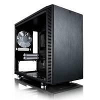 Корпус Fractal Design Define Nano S Window черный без БП miniITX 4x120mm 3x140mm 2xUSB3.0 audio bott PSU