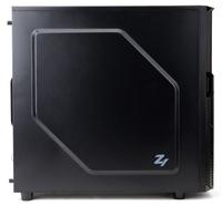 Корпус Zalman ZM-Z1 черный без БП ATX 2xUSB2.0 1xUSB3.0 audio bott PSU