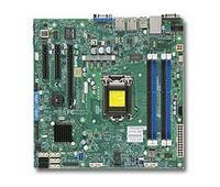 Материнская Плата SuperMicro MBD-X10SLM-F-O Soc-1150 iC224 mATX 4xDDR3 2xSATAII 4xSATA3 i210AT/i217LM 2хGgbEth Ret