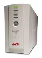 Источник бесперебойного питания APC Back-UPS BK350EI 210Вт 350ВА белый