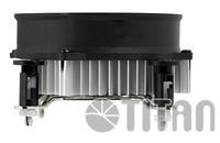 Устройство охлаждения(кулер) Titan DC-156G925X/R Soc-1150/1151/1155/ 3-pin 20dB Al 75W 301gr Ret