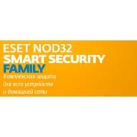 ПО Eset NOD32 Smart Security Family Platinum Edition 3 devices 2 years Box (NOD32-ESM-NS(BOX)-2-3)