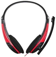 Наушники с микрофоном Oklick HS-M150 черный 2м накладные оголовье (NO-003N)