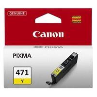 Картридж струйный Canon CLI-471Y 0403C001 желтый для Canon Pixma MG5740/MG6840/MG7740
