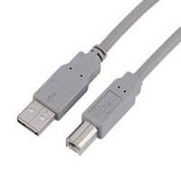 Кабель Hama H-29100 00029100 USB A(m) USB B(m) 3м серый