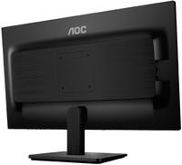 """Монитор AOC 21.5"""" E2275SWJ (00/01) черный TN+film LED 2ms 16:9 DVI HDMI M/M матовая 250cd 1920x1080 D-Sub FHD 3.15кг"""