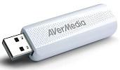 Тюнер-ТВ/FM Avermedia TD310 внешний USB PDU