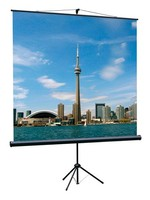 Экран на треноге Lumien 150x150см Eco View LEV-100101 1:1 напольный рулонный