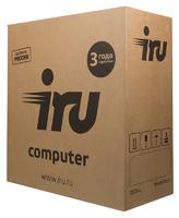 ПК IRU Office 110 MT Cel J3355 (2)/4Gb/500Gb 7.2k/HDG500/Windows 10 Home Single Language 64/GbitEth/400W/черный