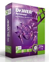 ПО DR.Web Антивирус 2-Desktop 1 year Base Box (BHW-A-12M-2-A3)