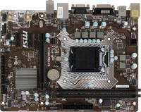 Материнская плата MSI H110M PRO-VD Soc-1151 Intel H110 2xDDR4 mATX AC`97 8ch(7.1) GbLAN+VGA+DVI