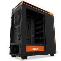 Корпус NZXT H440 черный/оранжевый без БП ATX 7x120mm 5x140mm 2xUSB2.0 2xUSB3.0 audio bott PSU