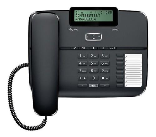 Телефон проводной Gigaset DA710 черный