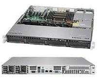 "Платформа SuperMicro SYS-5018R-MR 3.5"" SATA C612 1G 2P 2x400W"