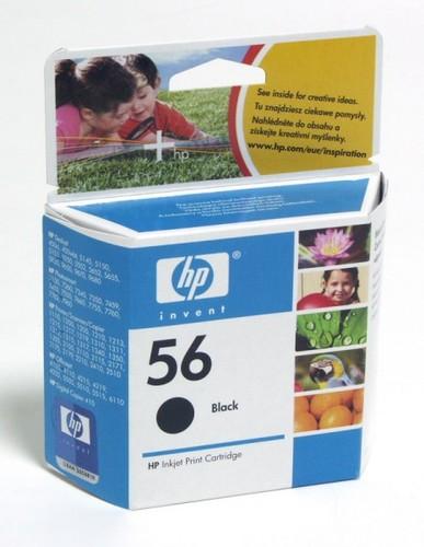 Картридж струйный HP 56 C6656AE черный (520стр.) для HP PCS 2100/DJ 5550/450/PS 7150/7350/7550