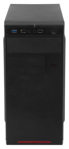ПК IRU Home 224 MT Ath 200GE (3.2)/4Gb/500Gb 7.2k/Vega 3/Windows 10 Home Single Language 64/GbitEth/400W/черный