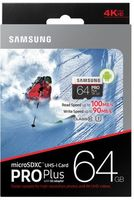 Флеш карта microSDXC 64Gb Class10 Samsung MB-MD64GA/RU Pro PLUS 2 + adapter