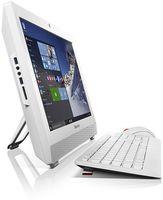 """Моноблок Lenovo S200z 19.5"""" HD+ Cel J3060 (1.6)/4Gb/500Gb 7.2k/HDG400/DVDRW/CR/noOS/GbitEth/WiFi/BT/клавиатура/мышь/Cam/белый 1600x900"""