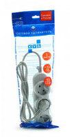 Сетевой удлинитель Powercube PC-Y-4-32-1,5 1.5м (5 розеток) серый (пакет ПЭ)