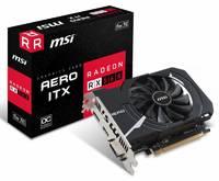 Видеокарта MSI PCI-E Radeon RX 560 AERO ITX 4G OC AMD Radeon RX 560 4096Mb 128bit GDDR5 1196/7000 DVIx1/HDMIx1/DPx1/HDCP Ret
