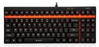 Клавиатура Rapoo V500 черный USB Gamer