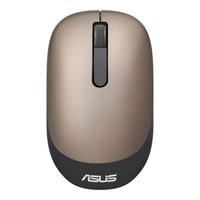 Мышь Asus WT205 золотистый оптическая (1600dpi) беспроводная USB2.0 для ноутбука (2but)