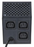 Источник бесперебойного питания Powercom Raptor RPT-800A 480Вт 800ВА черный