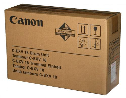 Фотобарабан (Drum) Canon C-EXV18 ч/б.печ.:27000стр монохромный (принтеры и МФУ) для IR1018/1020 (0388B002AA 000)