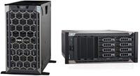 """Сервер Dell PowerEdge T440 2x4210R 2x16Gb 2RRD x16 1x1.2Tb 10K 2.5"""" SAS RW H730p+ iD9En 1G 2P 1x495W 3Y NBD (PET440RU2-4)"""