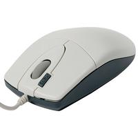 Мышь A4 OP-620D белый/синий оптическая (800dpi) USB1.1 (2but)