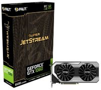 Видеокарта Palit PCI-E PA-GTX1060 SUPER JETSTREAM 6G nVidia GeForce GTX 1060 6144Mb 192bit GDDR5 1620/8000 DVIx1/HDMIx1/DPx3/HDCP Ret
