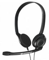 Наушники с микрофоном Sennheiser PC 3 CHAT черный 2м накладные оголовье (504195)