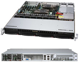 Платформа SuperMicro SYS-6019P-MTR 1G 2P 2x800W