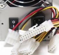 Блок питания LinkWorld ATX 450W LW2-450W (24+4pin) 80mm fan 4xSATA RTL