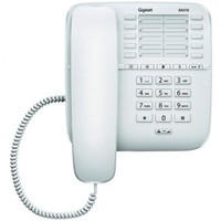 Телефон проводной Gigaset DA510 белый