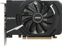 Видеокарта MSI PCI-E Radeon RX 550 AERO ITX 4G OC AMD Radeon RX 550 4096Mb 128bit GDDR5 1203/6000 DVIx1/HDMIx1/DPx1/HDCP Ret