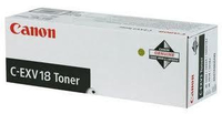 Тонер Canon C-EXV18 (GPR-22) 0386B002 черный туба 465гр. для копира iR1018/1022