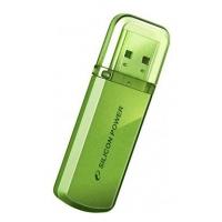 Флеш Диск Silicon Power 8Gb Helios 101 SP008GBUF2101V1N USB2.0 зеленый